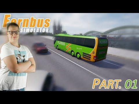 ŘIDIČ V NĚMECKU | Fernbus Simulator #01