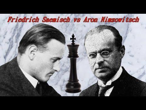 Partite Commentate di Scacchi 284 - Saemisch vs Nimzowitsch - Lo Zugzwang Immortale - 1923 [E06]