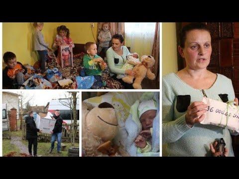 """12 dzieci żyją w dwóch małych pokojach """"Póki Bóg daje będą kolejne"""""""