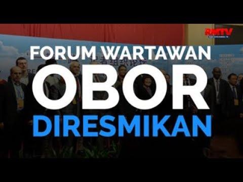 Forum Wartawan OBOR Diresmikan