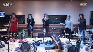 [Park Ji-yun's FM date] Thursday Live. EXID - HOT PINK [박지윤의 FM데이트] 20151126, clip giai tri, giai tri tong hop