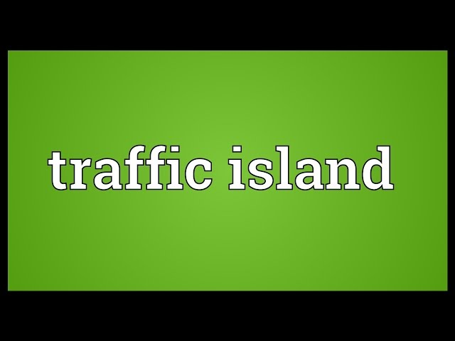 Traffic-island-meaning