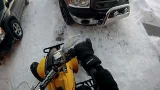 10. Honda TRX400EX Winter Ride   GoPro HD Hero 3