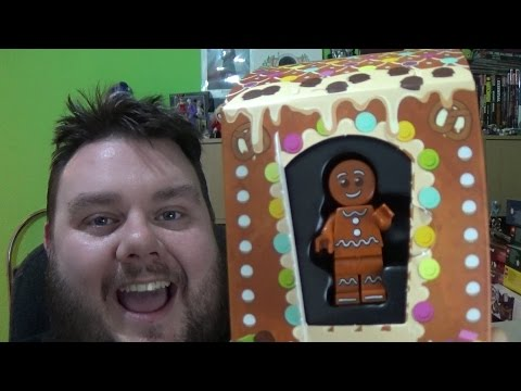 Lego Gingerbread Man Mini Figure 5005156 Lego Store Free Gift Unboxing Toy Review