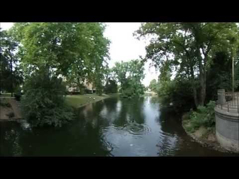 Die goldene Brücke im Hofgarten