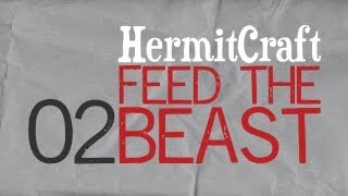 HermitCraft Feed The Beast: Episode 2 - Goon Squad Power