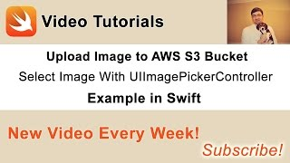 In this video we will learn how to user UIImagePickerController to let user select an image and upload it to Amazon S3 Bucket. Source code and other videos from this series are available in this blog post: http://swiftdeveloperblog.com/upload-image-to-aws-s3-bucket-in-swift/