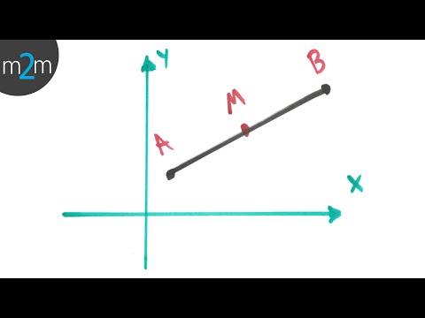 Mittelpunkt eines Liniensegments - HD