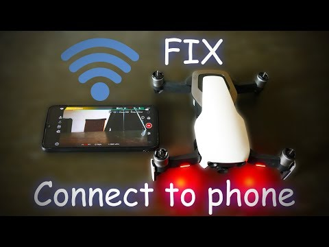 DJI Mavic Air connect to phone problem FIXED!