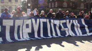 Download Video Emotional speech by Paula Peters from DPAC during Tory Cuts Kill protest MP3 3GP MP4