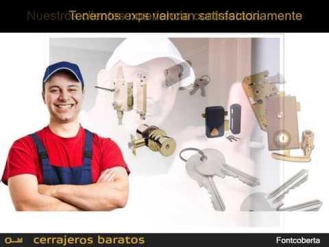 Cerrajeros Fontcoberta - Apertura de puertas 24 horas