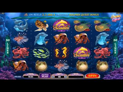 Dolphin Quest Online Slot Game Promo