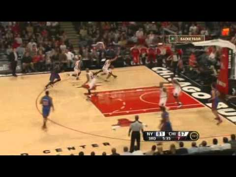 Knicks Turnover vs. Bulls
