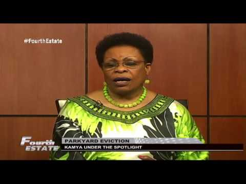 Fourth Estate: Beti Kamya on the spot over Nakivubo park yard evictions