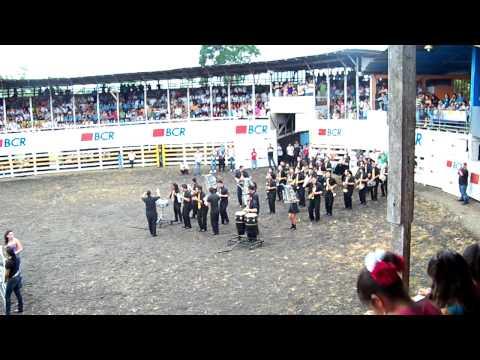 Banda Autónoma de Naranjo - Competencia de Bandas La Fortuna de San Carlos
