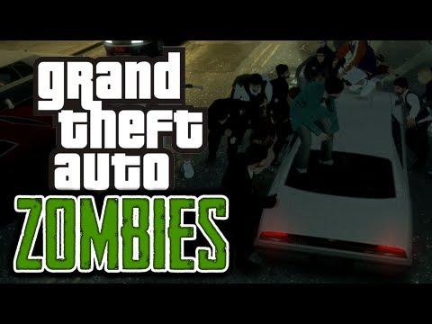 gta 4: zombie apocalypse!