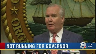 Not Running For Governor