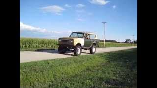 2. 6.5 diesel Scout drive by in the country. For Sale!