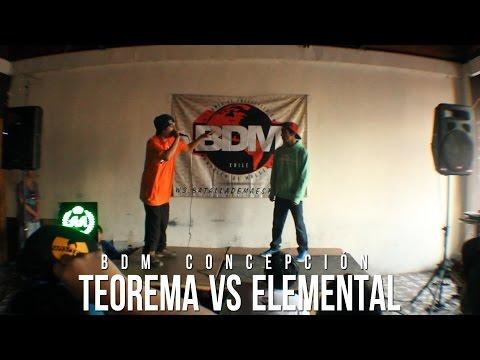 BDM - BDM CONCEPCION 2014 TEOREMA VS ELEMENTAL GANADOR: TEOREMA + info en www.batallademaestros.cl.