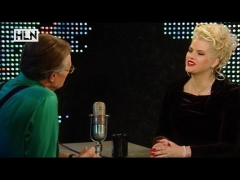Anna Nicole Smith talks about her late husband on Larry K...