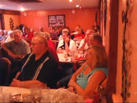 White County Tea Party Patriots host Senator Mike Delph.