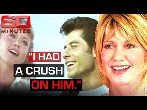 Olivia Newton-John and John Travolta's romantic chemistry on set of Grease | 60 Minutes Australia