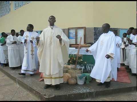 Msza katolicka w Zambii