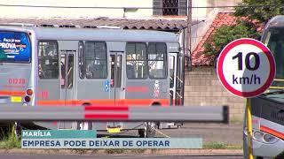 Justiça obriga  empresa Grande Marília a não abandonar as  atividades