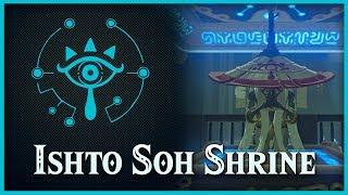 Zelda Breath of the Wild • Ishto Soh Shrine • Lake