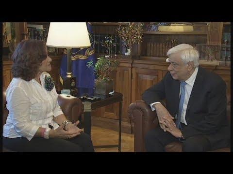 Συνάντηση του Π. Παυλόπουλου με Θ.Φωτίου και Δ.Καρέλλα
