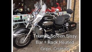 6. Triumph Rocket 111 Touring 2012 Black Review & Startup