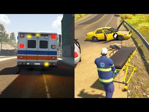 Paramedic gameplay - Flashing Lights