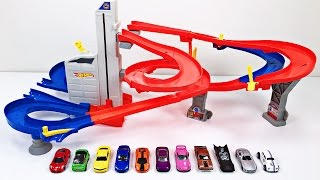 Best Toddler Learning Colors Hot Wheels Cars & Trucks for Kids #1 Teaching Colours for Children with a Hot Wheels Track called the Auto Lift Expressway play set and Hot Wheels, Matchbox, Tomica トミカ diecast toy cars - Organic Learning. Please take a moment to LIKE our video, SHARE it with family & friends, and SUBSCRIBE to our Organic Learning channel… Your help and support are greatly appreciated! Voice Over by Silly Billy - Check out his awesome YouTube channel:  https://www.youtube.com/channel/UCrL5ZTnr8f9UTaZf8S_DxaQFollow us on Twitter:  https://twitter.com/OrganicLearningFollow us on Instagram:  https://instagram.com/OrganicLearningOfficial Website:  https://OrganicLearning.com - Fun Toy Giveways, Coloring Downloads, & More.Fan Mail - If you would like us to feature your letter or car/truck drawing in a future episode, please send them to (email) FanMail@OrganicLearning.com or (snail mail) Organic Learning, 2355 Westwood Blvd. #321, Los Angeles, CA 90064 USANOTE:  If you are under the age of 18, please get your parent or guardian's permission before sending fan mail or fan email as it may be shared publicly on our website, social media pages, and in our YouTube videos. Full names and addresses will never be shared.This fun, educational, family-friendly early learning video uses a Hot Wheels Auto Lift Expressway playset, along with Hot Wheels, Matchbox, Tomica トミカ diecast toy cars and street vehicles to teach kids, children, toddlers, babies, special needs children, and children with autism and other learning disabilities about the colors Red, Green, Yellow, Blue, Orange, Purple, Pink, Brown, Black, Gray, and White. We hope you and your child have fun learning about colors or colours as we continue this series of learning basic colors videos for kids!Official Merchandise:  http://organiclearning.spreadshirt.com/Link to Share this video:  https://youtu.be/fX-od1edKLEOur Organic Learning videos are also very useful for people looking to learn English or speak engl