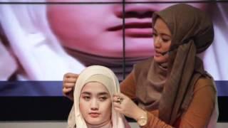 Hijab Tutorial - Hers Magazine Fashion Weekend New York I Love You