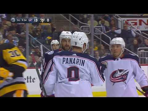 Обзор матча Питтсбург - Коламбус / PENGUINS VS BLUE JACKETS September 30 2017 NHL Preseason