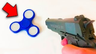 Video GUN VS FIDGET SPINNER (Experiment) MP3, 3GP, MP4, WEBM, AVI, FLV Agustus 2017