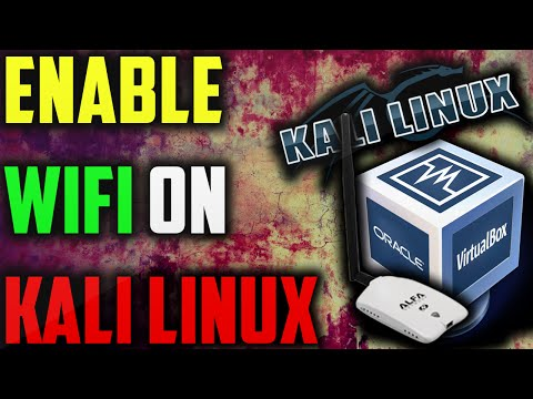 HOW TO ENABLE WIFI ADPATER IN KALI LINUX VIRTUALBOX
