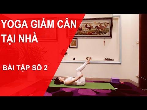 Yoga giảm cân tại nhà - Bài tập số 2 với chuyên gia Nguyễn Hiếu Yoga( Yoga For Weight Loss )