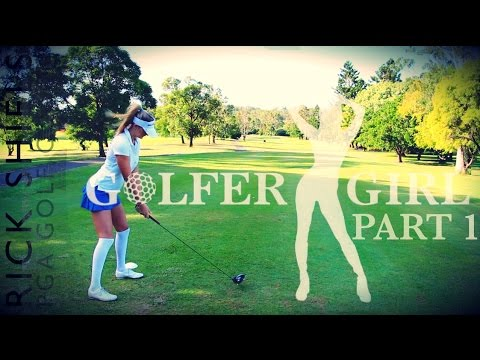 GOLFER GIRL & RICK SHIELS COURSE VLOG PT1