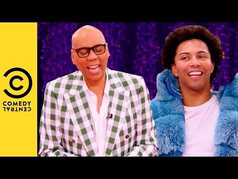 Shangela's Hilarious Jamaican Accent | RuPaul's Drag Race All Stars 3