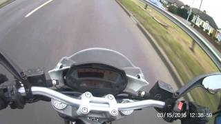 4. 35kw ducati monster 696 acceleration-top speed!!