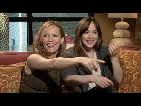 Dakota Johnson and Leslie Mann Shamelessly Hit On