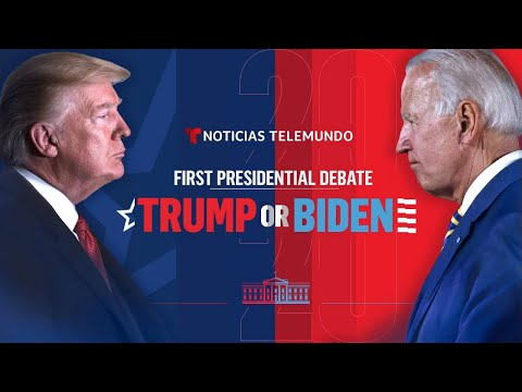 The First 2020 Presidential Debate: Joe Biden & Donald Trump (Full Debate - ENGLISH)
