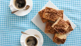 Snickerdoodle Crumb Bars- Sweet Talk with Lindsay Strand by Everyday Food