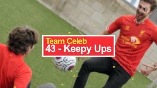 #PerfectMatch: Robbie Fowler And John Bishop Star In Keepy-ups Challenge