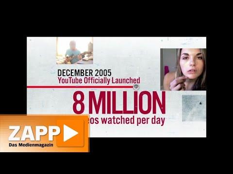 Youtube: Unterschätzte Medien-Konkurrenz | ZAPP | N ...