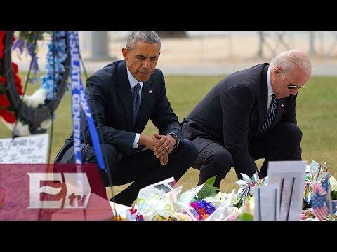 Desde Orlando, Obama pide mayor control de armas