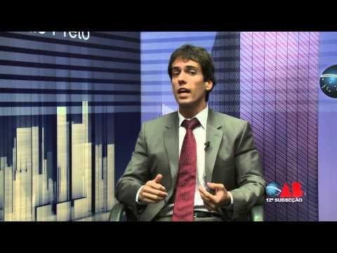 OAB na TV OnLine Prerrogativas, com Julio Cesar de Oliveira Guimarães Mossin
