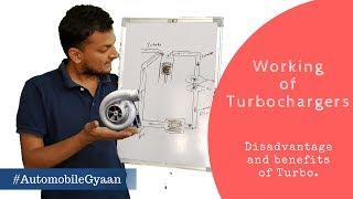Turbocharger कैसे काम करता हैं ? जानिये।