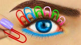 Video 12 Weird Ways To Sneak Makeup Into Class / Back To School Pranks MP3, 3GP, MP4, WEBM, AVI, FLV September 2018